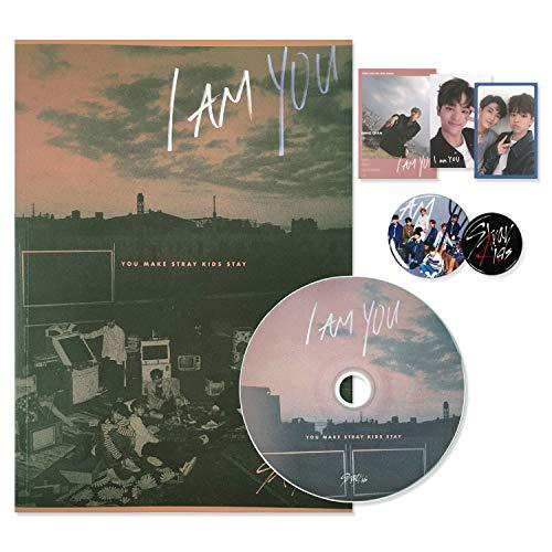 STRAY KIDS 3rd Mini Album - I am YOU [ I AM ver. ] CD + Photobook + 3 QR Photocards + FREE GIFT(New)