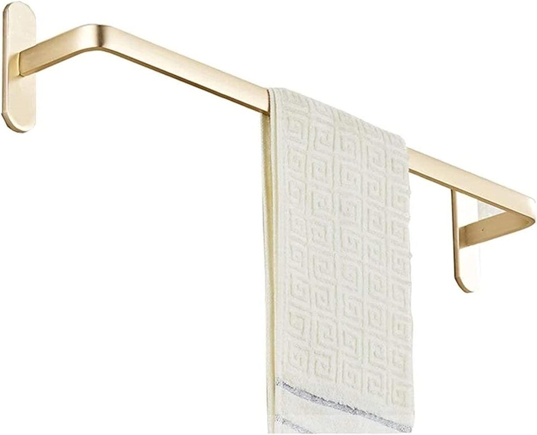 mimiliy Towel Bar Wall Mounted Single Space List price Rack Aluminum Max 60% OFF