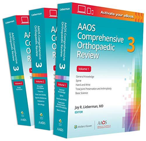AAOS Comprehensive Orthopaedic Review 3: Print + Ebook (AAOS - American Academy of Orthopaedic Surgeons)