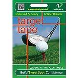 Impact Tape Improved Accuracy and Distance - Entrenador de Swing para Golf, Color Blanco