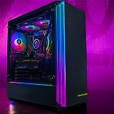 GameMachines Gemini - RGB Gaming PC - Wasserkühlung - Intel® Core™ i7 10700F - NVIDIA GeForce RTX 3060-500GB SSD - 2TB Festplatte - 16GB DDR4 - WLAN - Windows 10 Pro