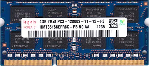 Hynix 4GB DDR3 Memory SO-DIMM 204pin PC3-12800S 1600MHz HMT351S6EFR8C-PB