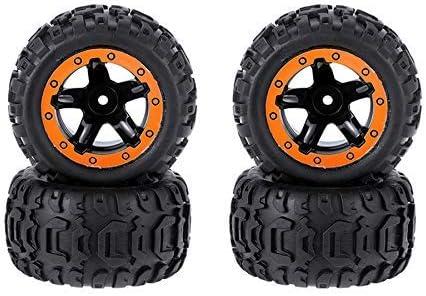 Zholuzl Precision 4PCS Tires Wheels Max 45% OFF Remote Rims A Ranking TOP1 Control Cars