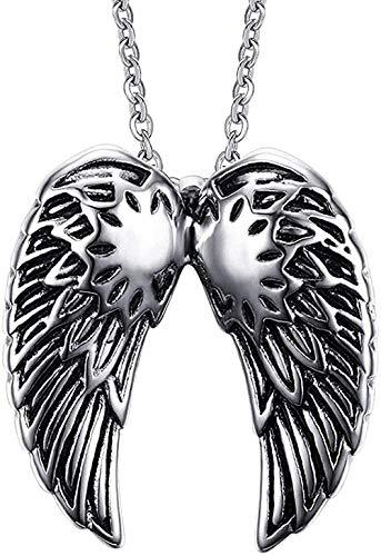 Yiffshunl Necklace Men and Women Gothic Punk Hip Hop Rock Necklace Simple Pendant Necklace Unique and Versatile Gift