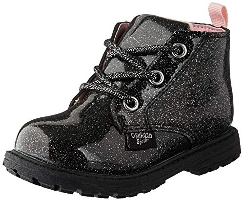 OshKosh B'Gosh Girls' Misti Fashion Boot, Black, 8 M US Toddler
