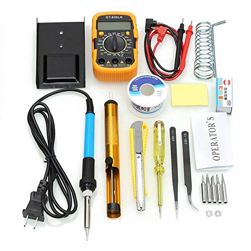 New Soldering Hot Sale Temperature Electric Soldering Iron Kit 110V 220V 60W Soldering Iron kit With...