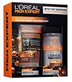 L'Oréal Men Expert Hydra Energy Set de regalo para hombres 24H hidratante con Guarana (50 ml) y gel...