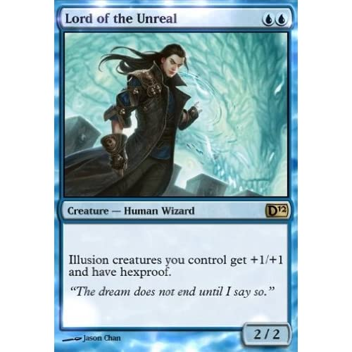 Magic MTG Excellent+ Lord of the Unreal ~ Magic 2012