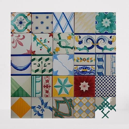 Mosaico surtido de 75 x 75 cm - Cerámica Sevillana