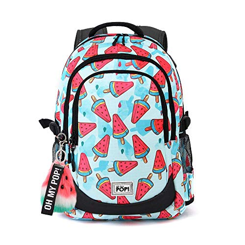Oh My Pop! Oh My Pop! Frech-Running HS Rucksack Mochila Tipo Casual 44 Centimeters 21 Multicolor (Multicolour)