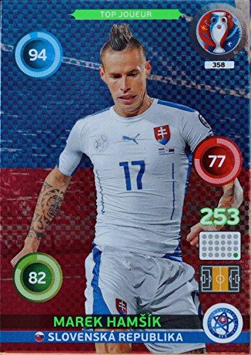 carte PANINI EURO 2016 #358 Marek Hamsik