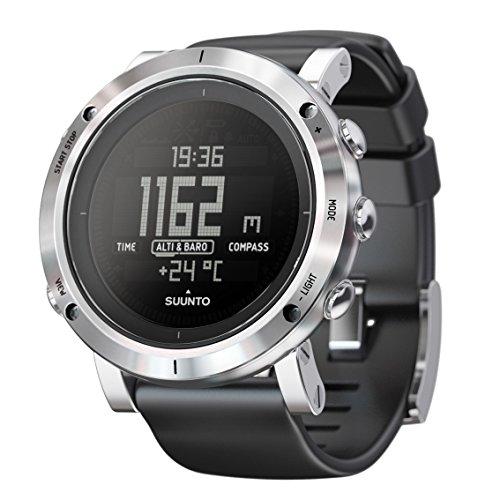SUUNTO(スント) スントコア 腕時計 高度計 気圧計 コンパス 温度 ウェザーアラーム シュノーケル用深度メーター搭載 SS020339000 Brushed Steel