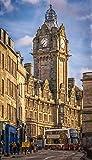 Zopix Poster Schottland Edinburgh Stadt Szene Wandbild -