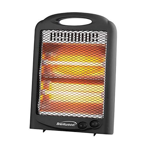 Brentwood Appliances BTWHQ600BK 600-Watt Portable Space Heater, One Size, Black Heater Portable Space