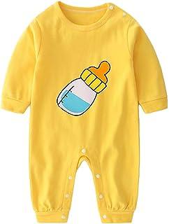 Bébé Bodys Barboteuse Manche Longue Pyjamas pour Garçons Filles, Coton Combinaisons Onesies Grenouillères Enfant Vêtement ...