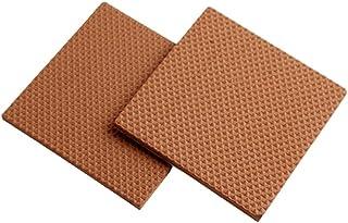 Furniture Pads Felt Floor Protectors Non Skid Non Slip Self Adhesive Square Pads Shock-Absorbent Floor Protectors 2P TPAA5...