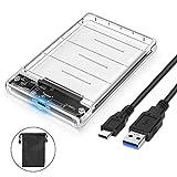 POSUGEAR USB 3.1 Gen 2 Type C Boîtier Disque Dur, Boîtier Externe pour Disque Dur...