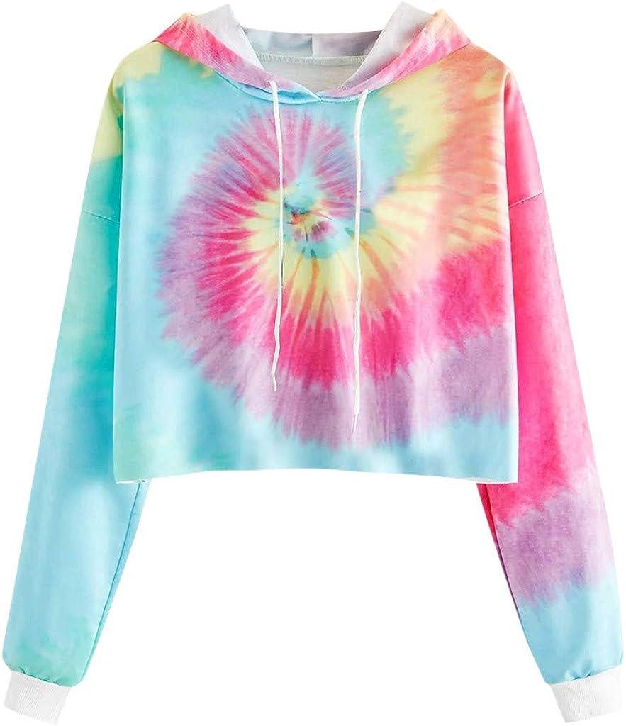 Womens Cute Hoodies, Womens Cute Graphic Long Sleeve Hoodie and Sweatshirt Crewneck Loose Casual Pullover Tops