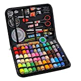 BiaoGan 183PCS Premium Sewing Machine Kit, Large Sewing Kits for Adults, College Students, Beginners, Emergency, Sewing Supplies Kit Including Professional Sewing Accessories, 38 XL Thread Spools