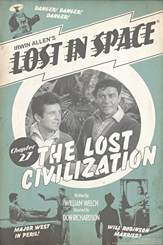 Lost In Space The Lost Civilization by Juan Ortiz Art Print Poster 12x18