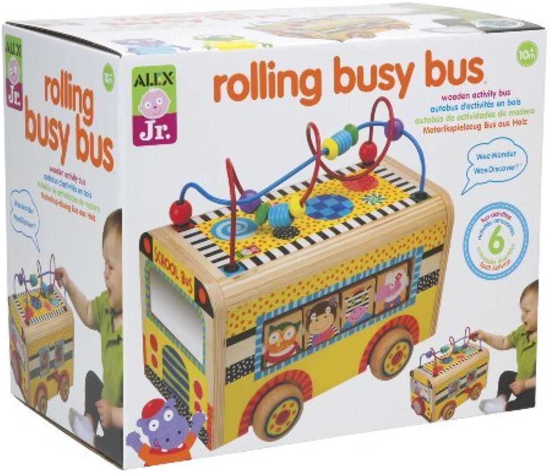 ALEX Toys ALEX Jr. Rolling Busy Bus by ALEX Toys