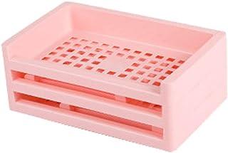 Plastic storage rack, storage box, closet storage box, file box, used for office organization and storage of toy storage b...