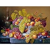 5D Diamond painting drawing set DIY Fruit plate art Full Diamond cross stitch decoración de la pared Mosaico Home Canvas Gifts 30x40cm