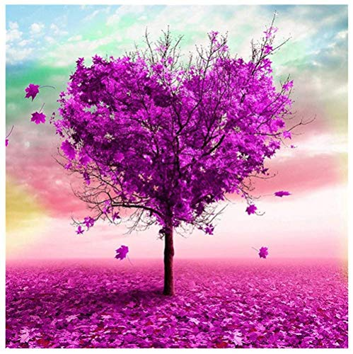 MeDnn 5D Diamant Schilderij Kits Hartjes Liefde Bomen Strass Geplakt DIY Getallen Diamant Kunst Ambachten voor Thuis Muurdecoratie Multi kleuren