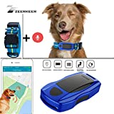 ZEERKEER Pet GPS Tracker, Dog GPS Tracking and pet Finder, The GPS Dog Collar Attachment, Locator Waterproof, Tracking Device for Dogs, Cats, Pets Activity Monitor
