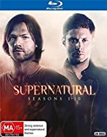 Supernatural: Seasons 1-10 Complete Series [Blu-ray] [Region-Free]