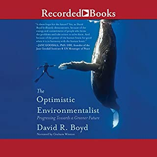 The Optimistic Environmentalist audiobook cover art