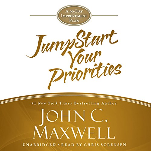 JumpStart Your Priorities audiobook cover art