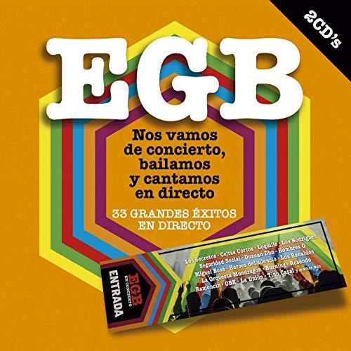 EGB Nos Vamos De Concierto Bailamos Y Cantamos En Directo (2 CDs)