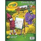 Crayola Doodle Pad kkkk, 9 x 12 Inches, White