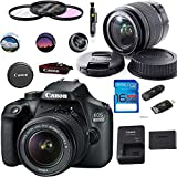 Canon EOS 4000D / T100 Digital Camera with EF-S 18-55MM F/3.5-5.6 III Lens + Basic...