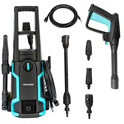 ProKleen Electric Pressure Power Washer 1600W - High Performance & Powerful Jet Wash for Deep...