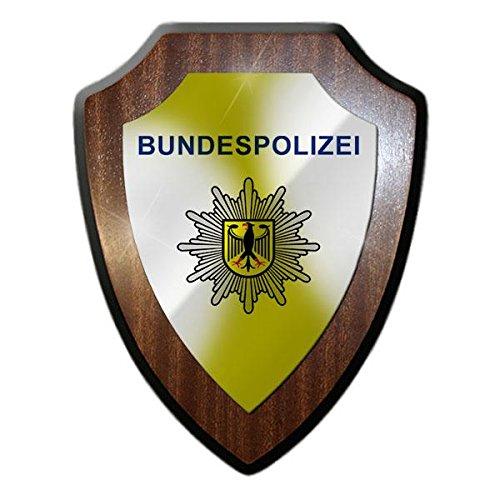Copytec Wappenschild Bundespolizei BGS Bundesgrenzschutz Drogenkontrolle GSG9 Andenken Deutschland Abzeichen Pension #22097