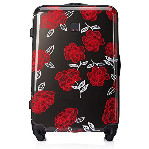 Tripp SlateWatermelon Bloom Large 4 Wheel Suitcase