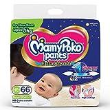 MamyPoko Pantalones Extra Absorb Pañales, recién nacido (hasta 5 kg), 66 unidades