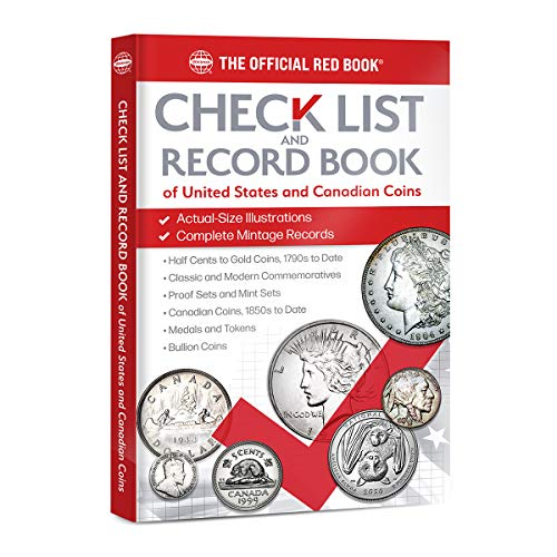 Compare Textbook Prices for Checklist and Record Book of United States and Canadian Coins  ISBN 9780794849047 by Whitman Publishing