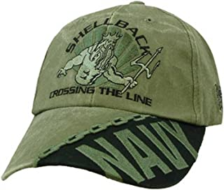 navy shellback hat