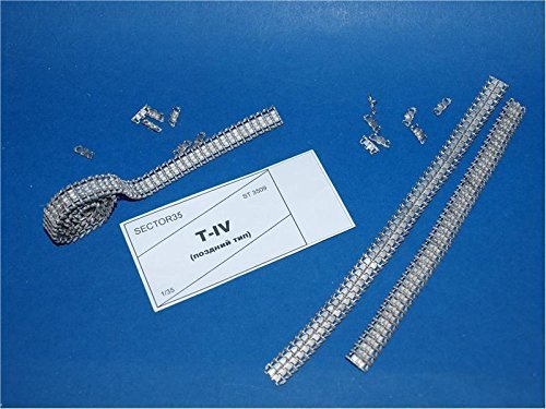Price comparison product image ASSEMBLED METAL TRACKS FOR PZ.KPFW. IV (LATE) 1 / 35 SECTOR35 3509-SL