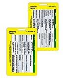 Silver Maple Leaf Vertical Cardiac Drip Badge Card Cardiac Cheat Card for Nurses, RN Students, and Nursing Clinicians – Premium Emergency Nurse Badge Reference Card – Durable and Sturdy Design