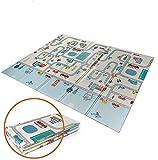Babify Alfombra de Juegos Reversible XL/Colchoneta Infantil Plegable