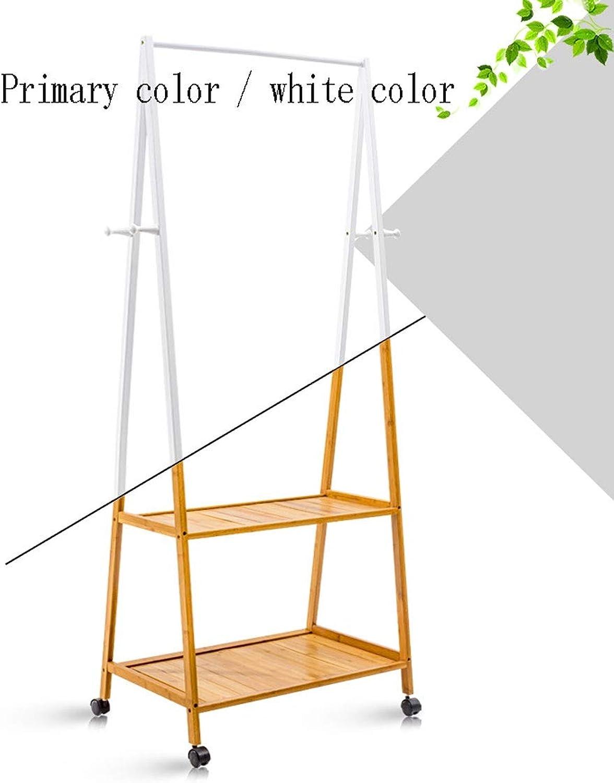 Simple Modern Hanger Floor European Creative Coat Rack Solid Wood Bedroom Shelf Multi-Function Multi-Selection Practical and Convenient