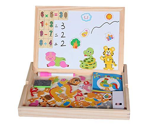 Pädagogisches Lernspielzeug / Holzspielzeug / magnetisch / Spielzeug für Buben und Mädchen Basteln / Mahlen / Kinder geschenkidee /tolles Geschenk