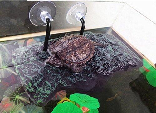BigTron Turtle Dock Basking piattaforma, Willdo PU Schiuma Decorazione galleggiante per acquario Terrazzo Terrazzo Salire Tartaruga brasiliana