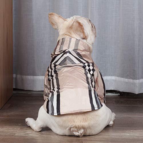 FORMEG Ropa De Perro Mascotas Camisa De Perro para Perros Pequeos Cazadora para Sudaderas con Capucha De Bulldog Francs Disfraz De Pug Ropa De Cachorro