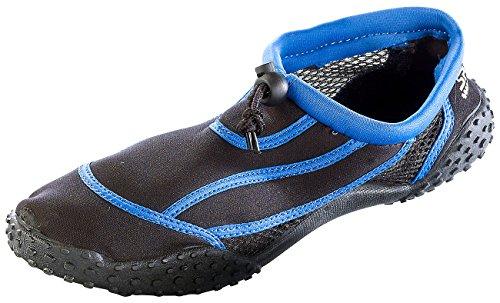 Speeron Barfuß-Schuhe: Strandschuh mit Rutschfester Profilsohle, Gr. 40 (Surfschuhe)