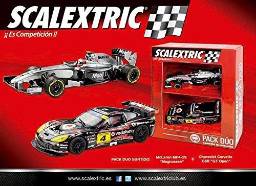 Scalextric Original - Pack Dúo Surtido 2 (F1 McLaren Button Deco 2014 - Renault Megane...